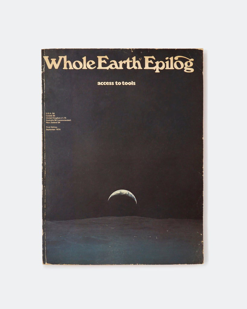 Whole Earth Epilog (1974)