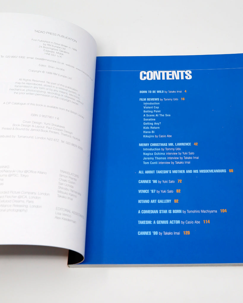 'Beat' Table of Contents