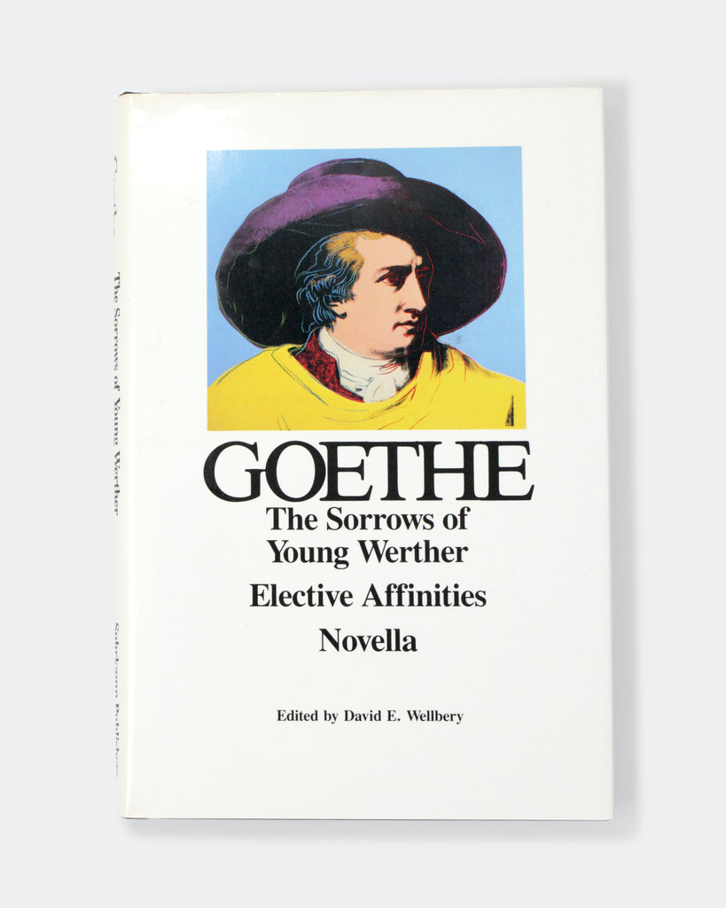 Geothe: The Sorrow of Young Wether, Elective Affinities, Novella Cover