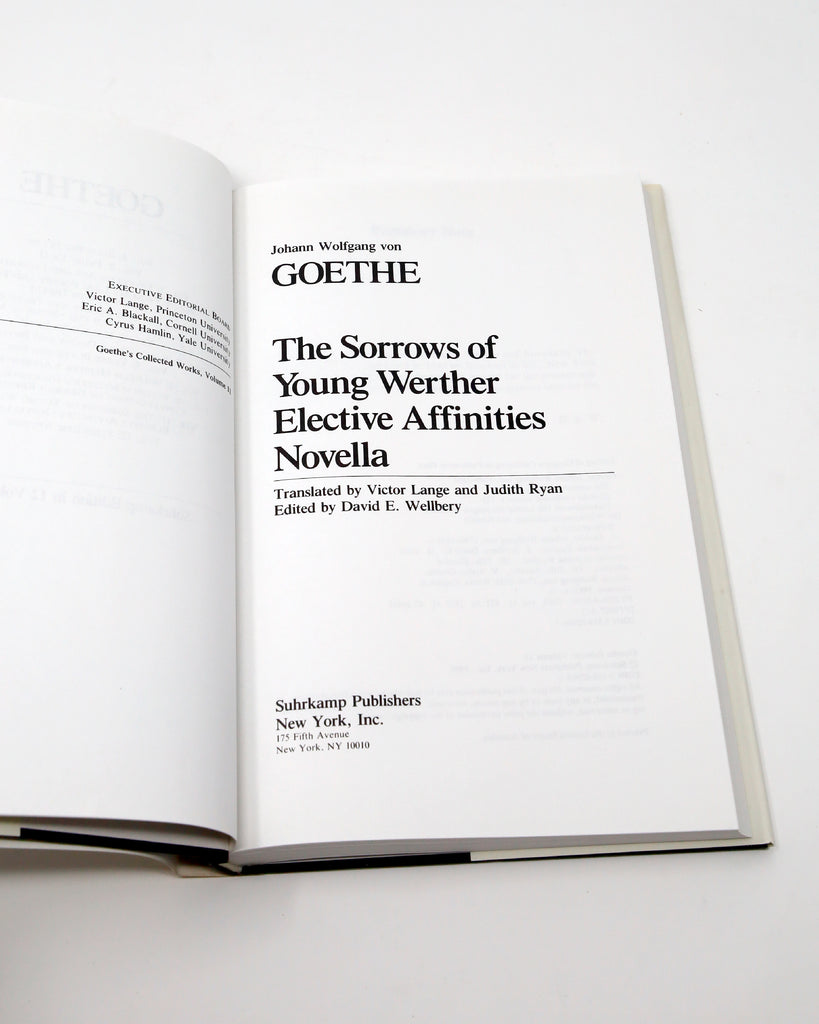 Goethe Title Page