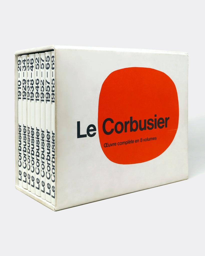 LE CORBUSIER: COMPLETE WORKS IN 8 VOLUMES