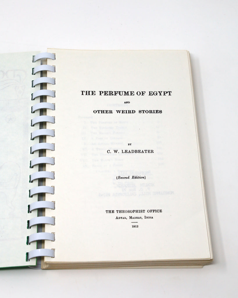 The Perfume of Egypt Title Page