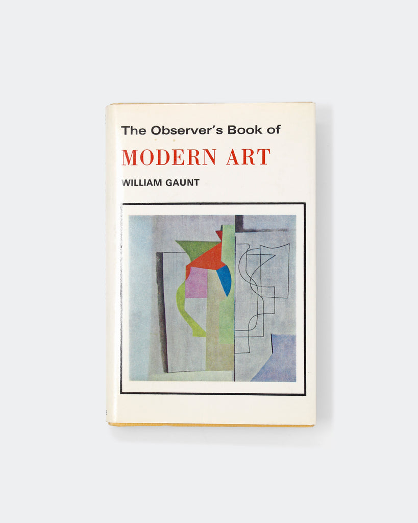 The Observer's Book of Modern Art Cover