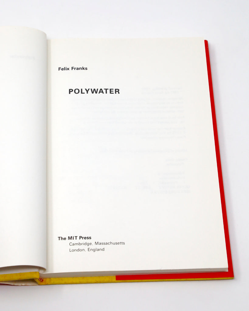 Polywater Title Page
