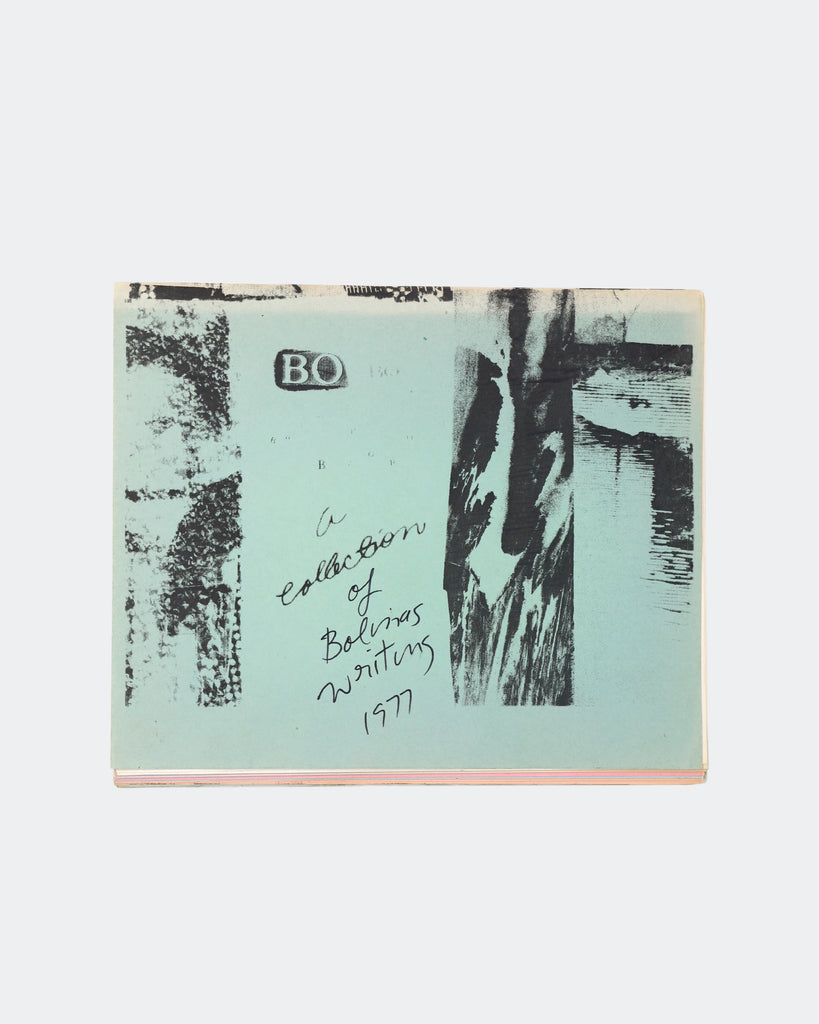 A Collection of Bolinas Writing, 1977