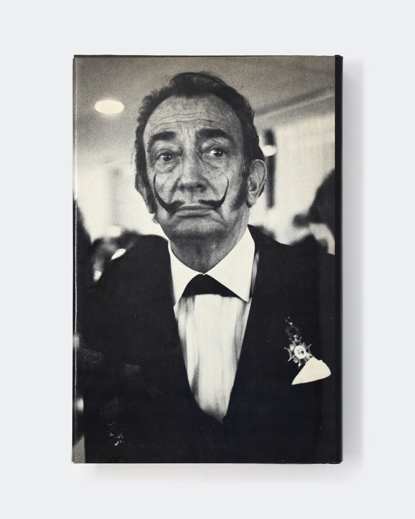 Portrait of Dali, Back Cover of Hidden Faces