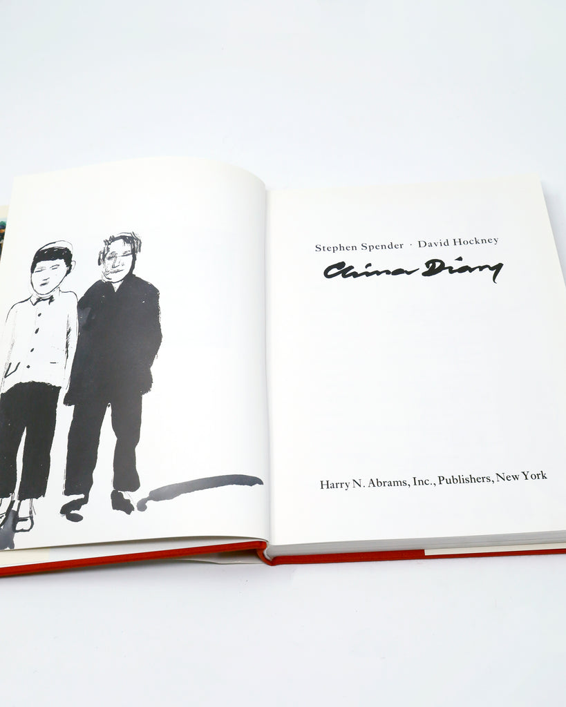 China Diary by Stephen Spender & David Hockney