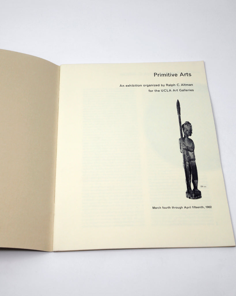 Primitive Arts: An Exhibition (1962)