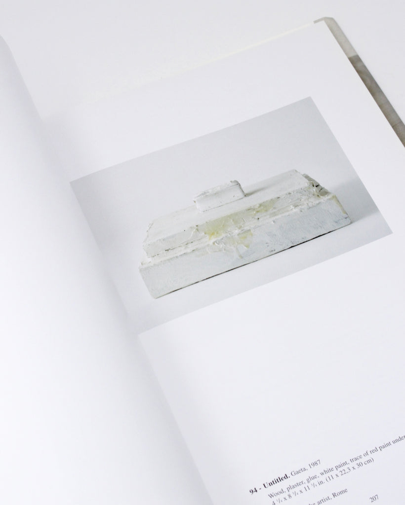 Cy Twombly, Catalogue Raissoné of Sculpture: Vol. 1, 1946-1997 ed. by Nicola Di Roscio