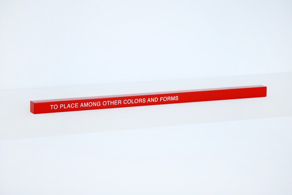 "ART EDITION No. 1: ""TO PLACE AMONG OTHER COLORS AND FORMS""  Thomas A. Clark x Book/Shop"