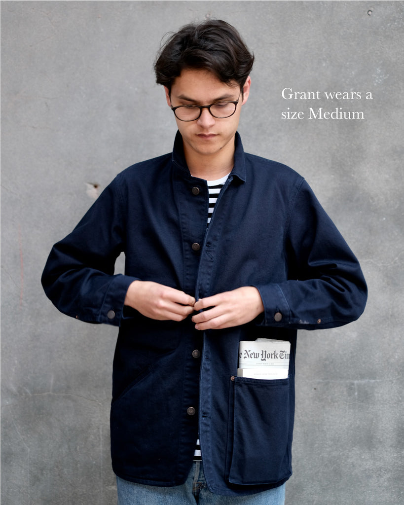 Book Jacket by Book/Shop x C'H'C'M' in Navy Blue