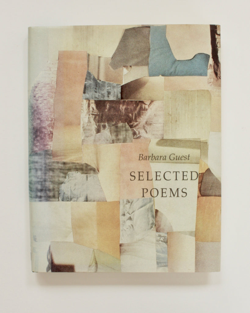 SELECTED POEMS by Barbara Guest (SIGNED)