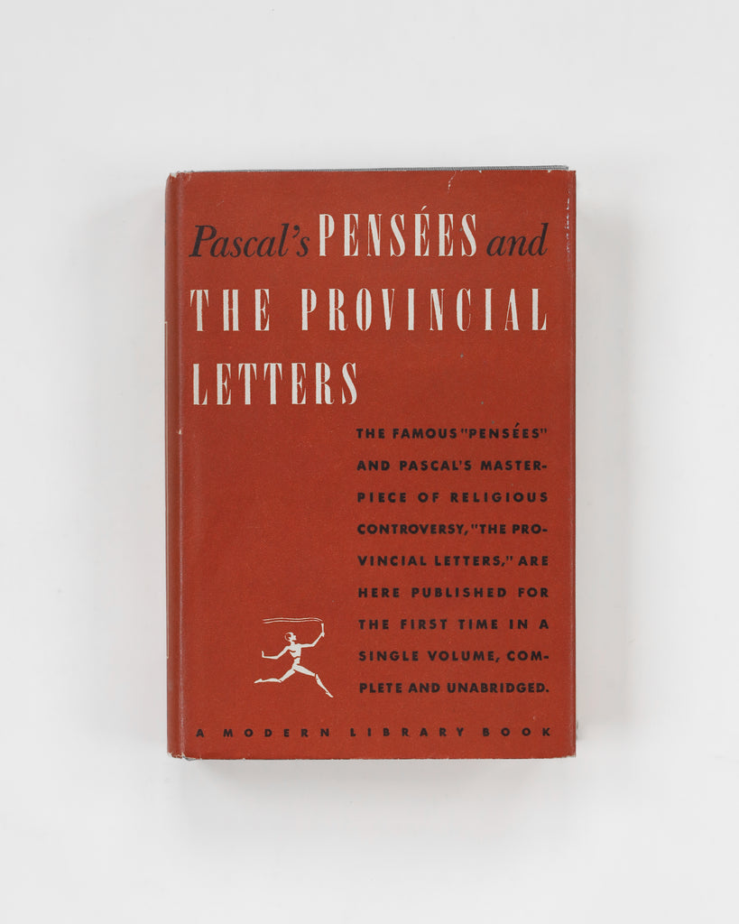 Pascal's Pensées and The Provincial Letters