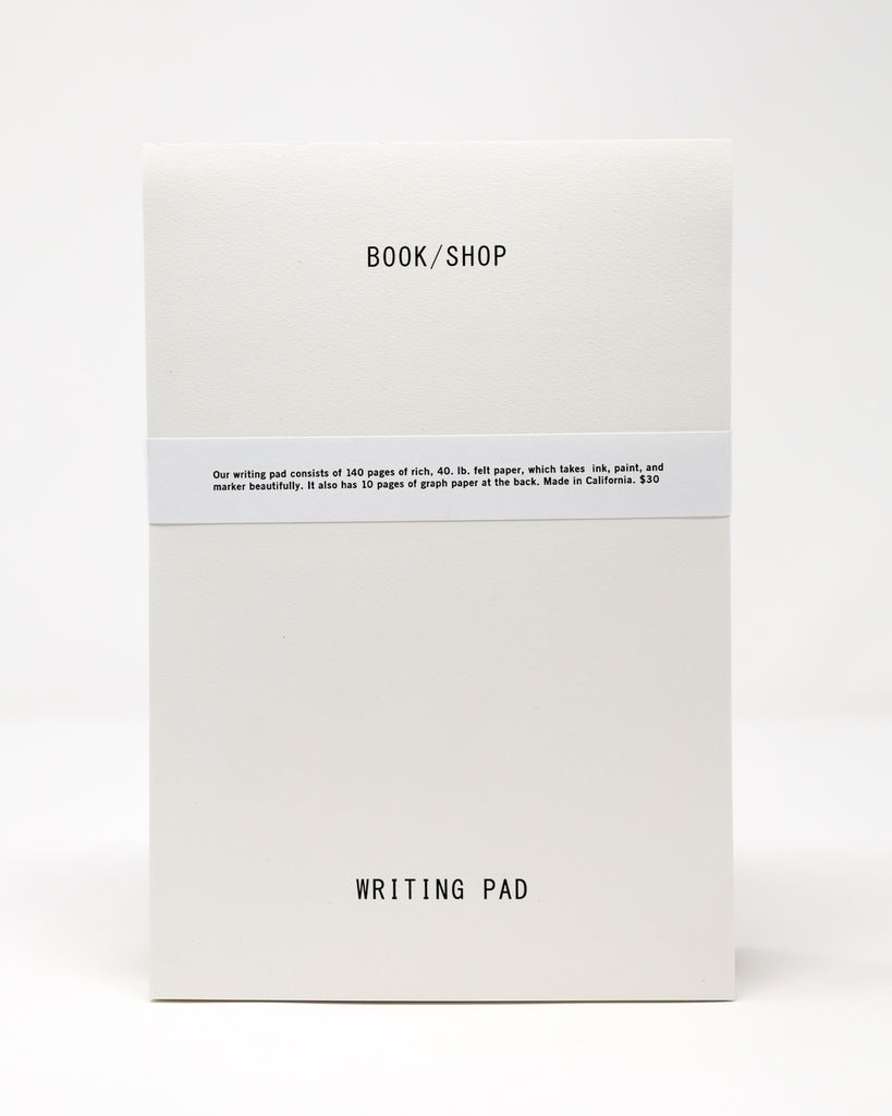 Book/Shop Writing Pad