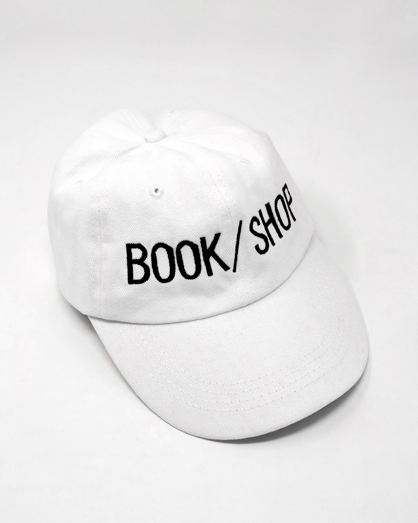 BOOK/SHOP CAP (WHITE)