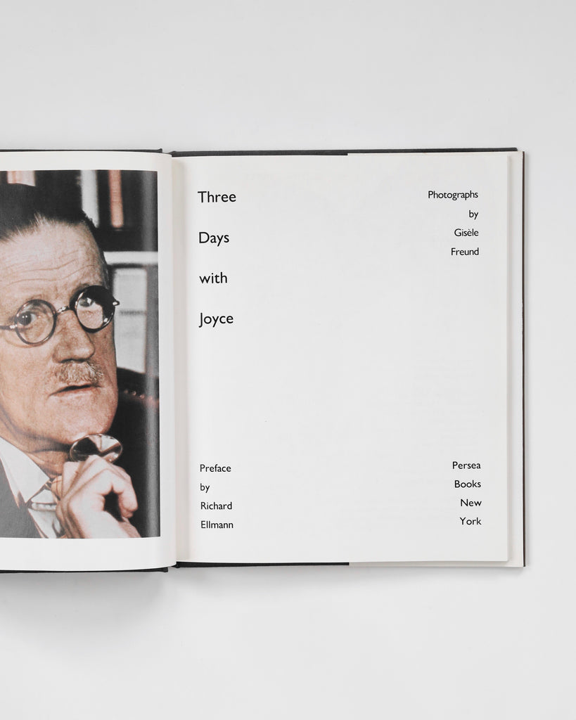 Three Days with Joyce: Photographs by Gisèle Freund