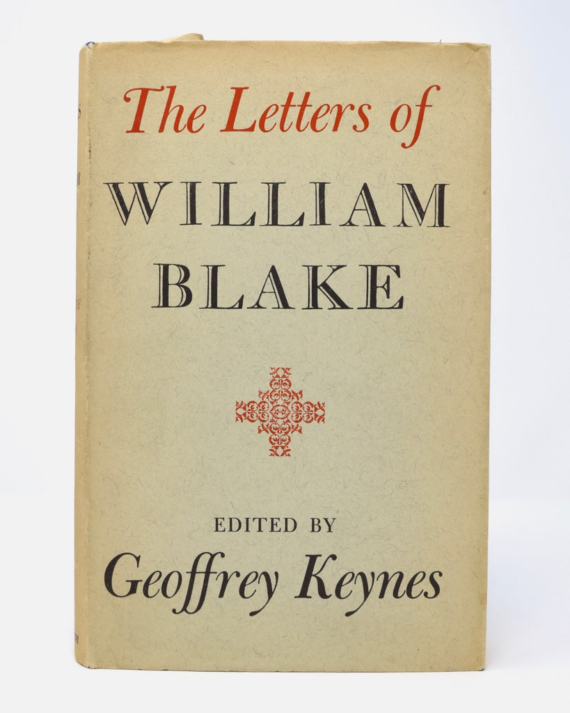 The Letter of William Blake by Geoffrey Keynes