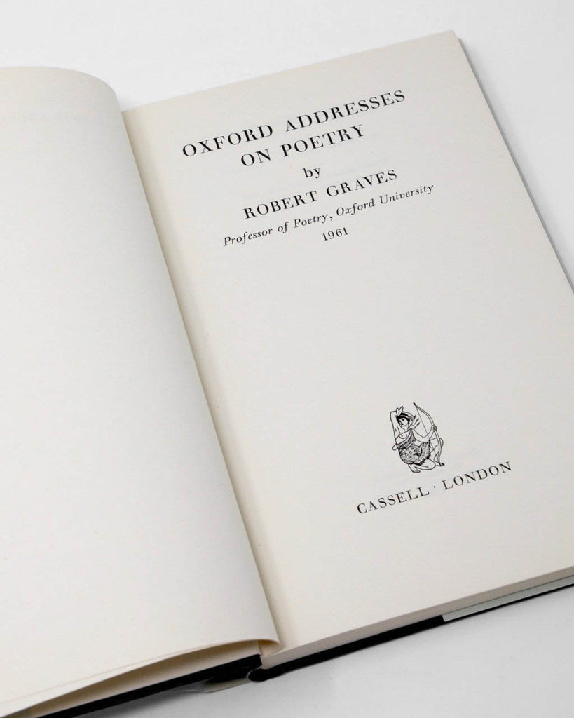 Oxford Addresses on Poetry by Robert Graves