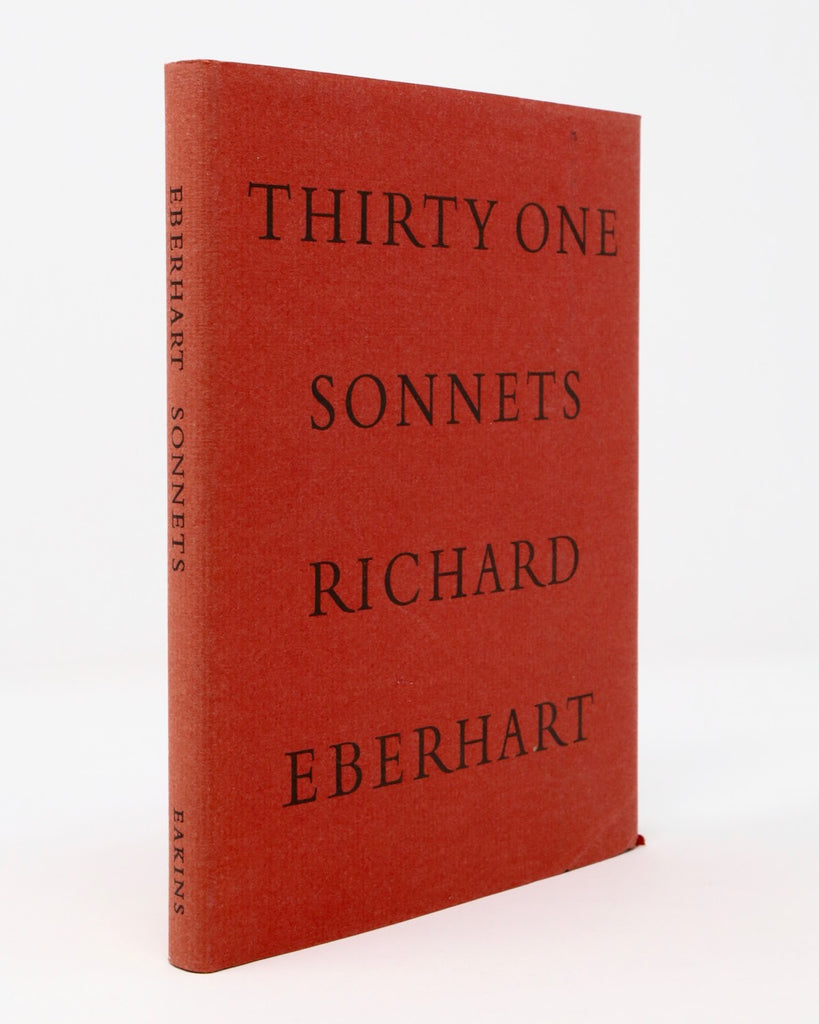 Thirty One Sonnets by Richard Eberhart