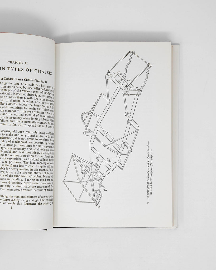 Racing and Sports Car Chassis Design by Michael Costin and David Phipps
