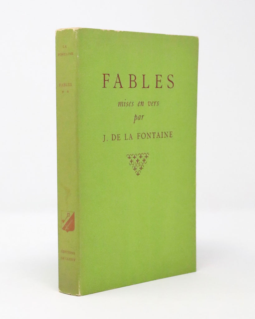 Fables Verses by J. De La Fontaine