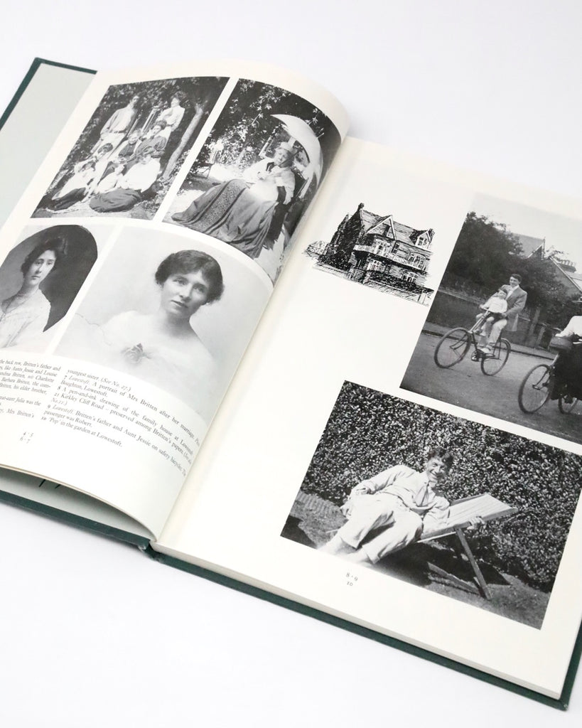 Benjamin Britten: Pictures from a Life 1913-1976 by Donald Mitchell and John Evans