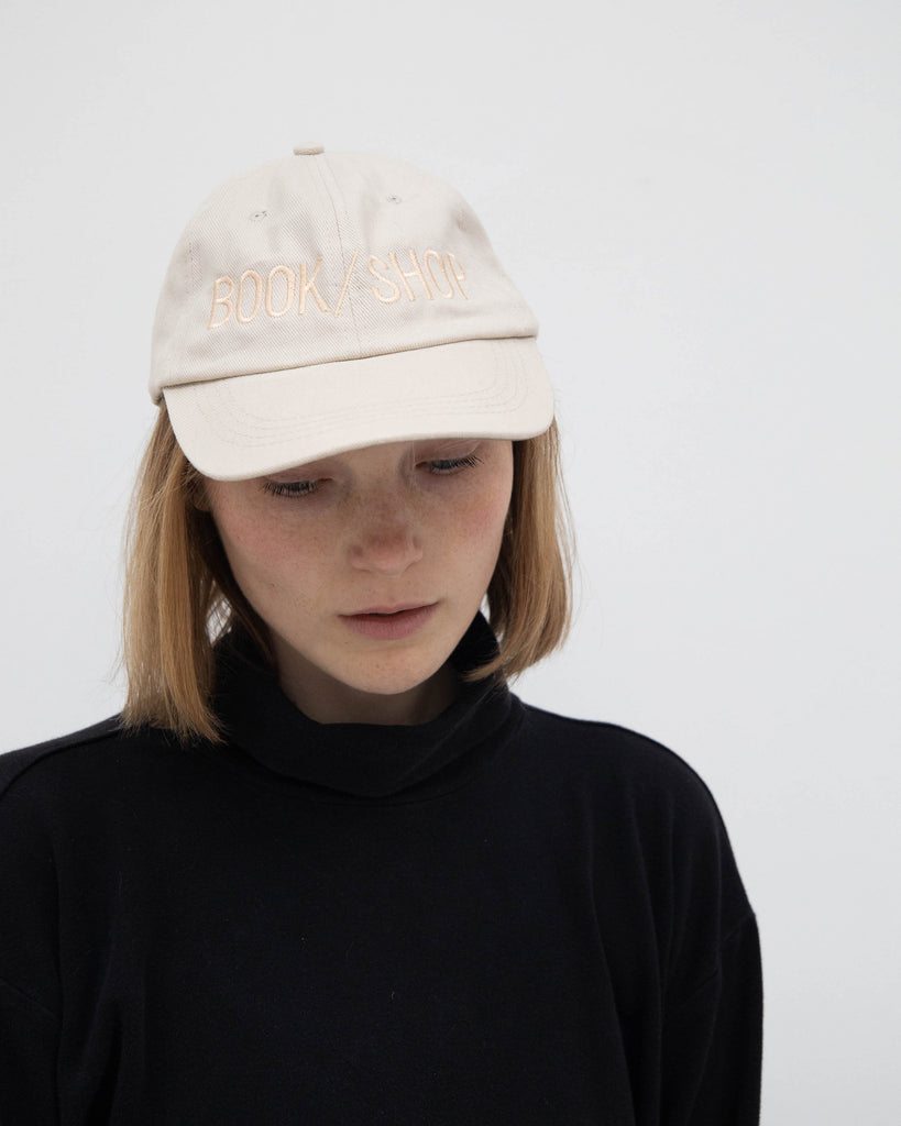 BOOK/SHOP CAP (PALE KHAKI)