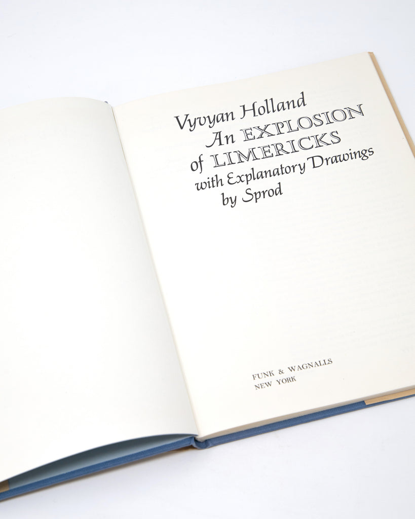 An Explosion of Limericks by Vyvyan Holland