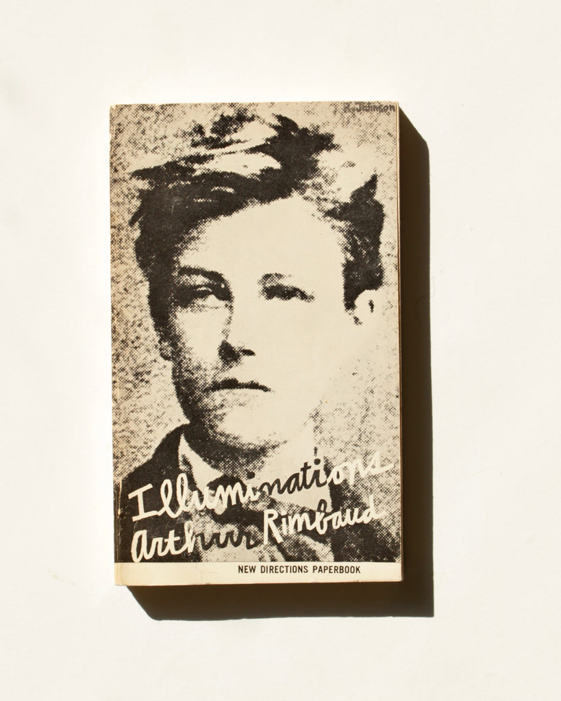 Julia's Copy of Illuminations by Arthur Rimbaud