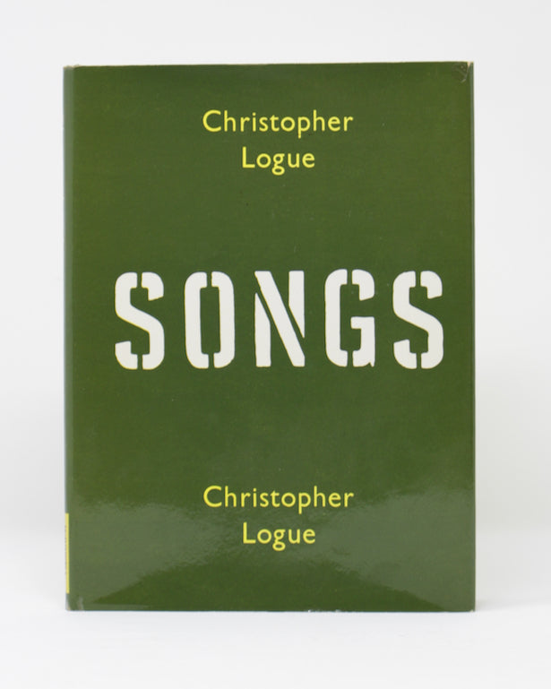 Songs by Christopher Logue
