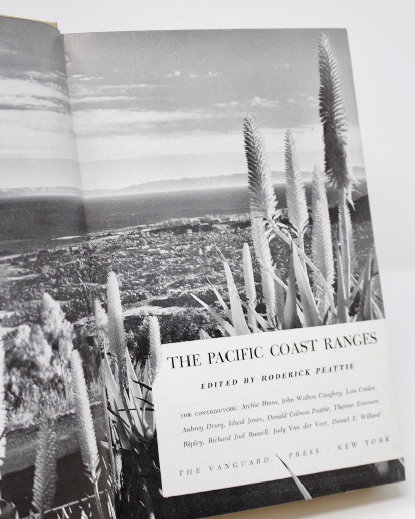 The Pacific Coast Ranges by Roderick Peattie