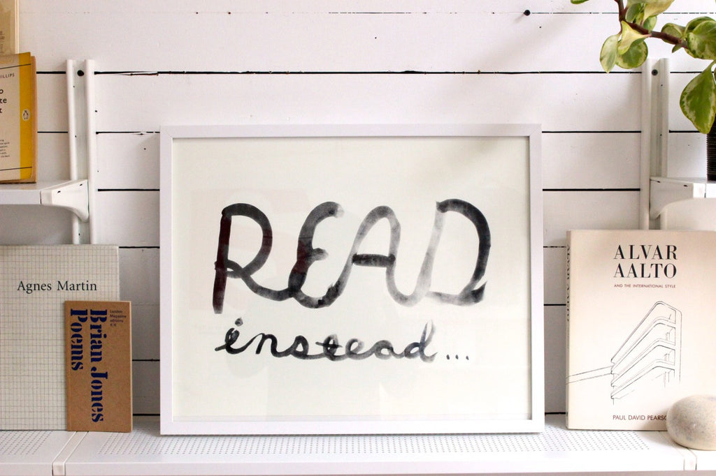 READ INSTEAD Print