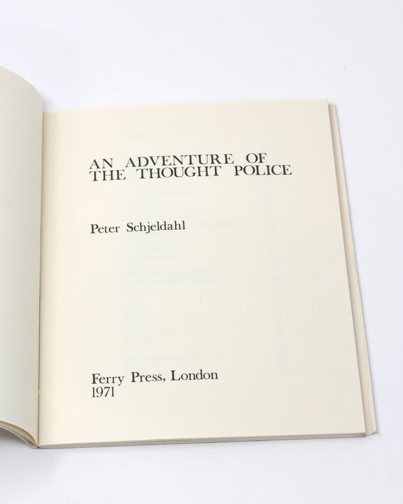 An Adventure of the Thought Police by Peter Schjeldahl