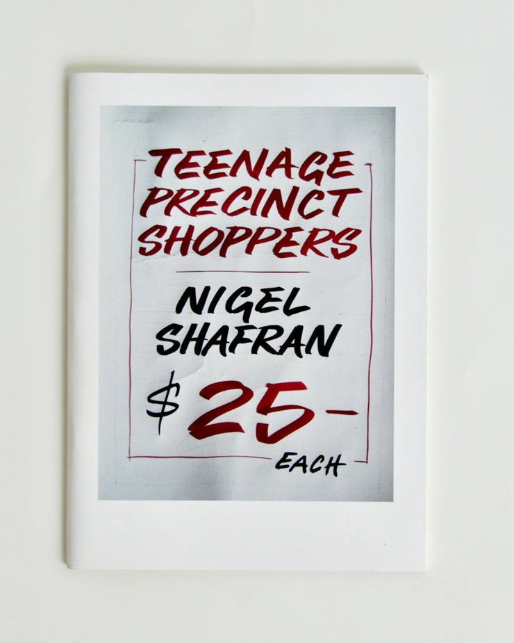 TEENAGE PRECINCT SHOPPERS by Nigel Shafran