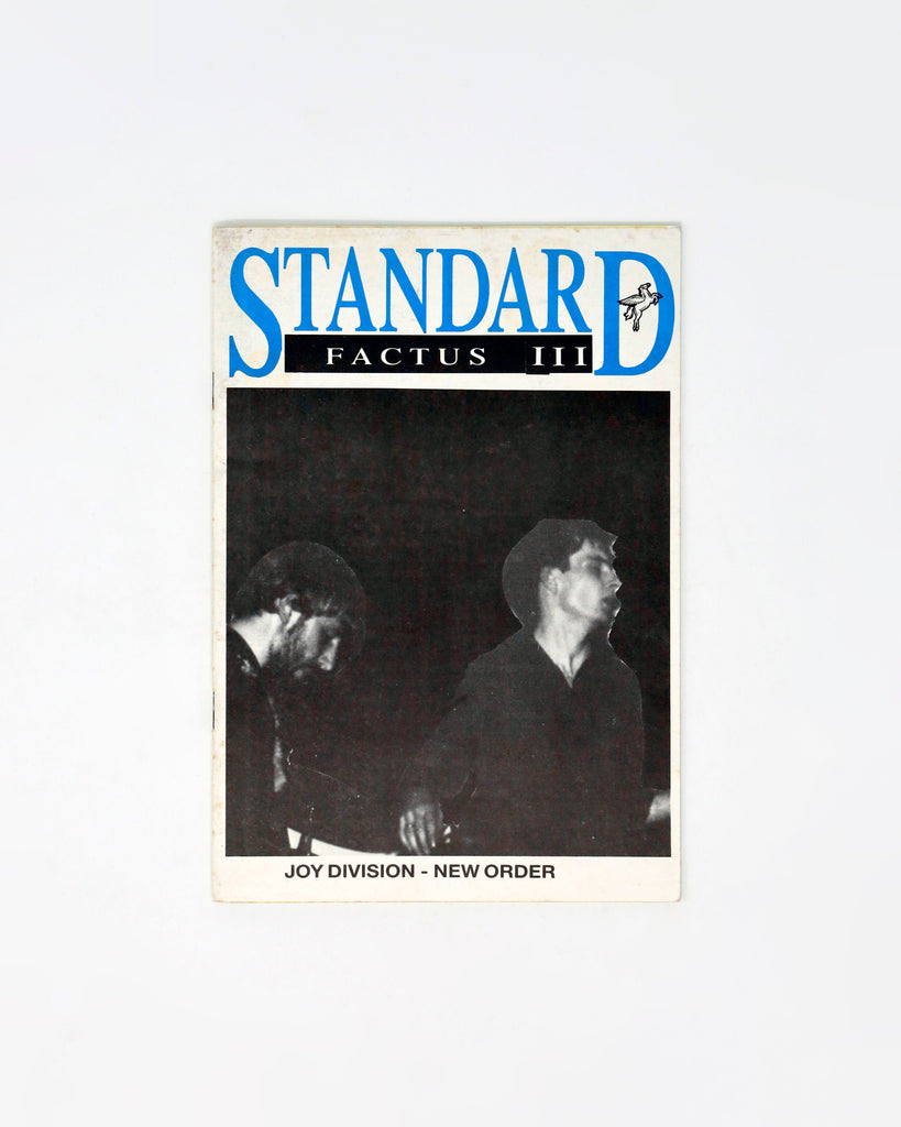 STANDARD FACTUS ISSUES II-V: JOY DIVISION & NEW ORDER FANZINES