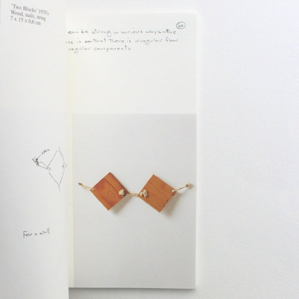 SMALL SCULPTURES OF THE 70S by Richard Tuttle