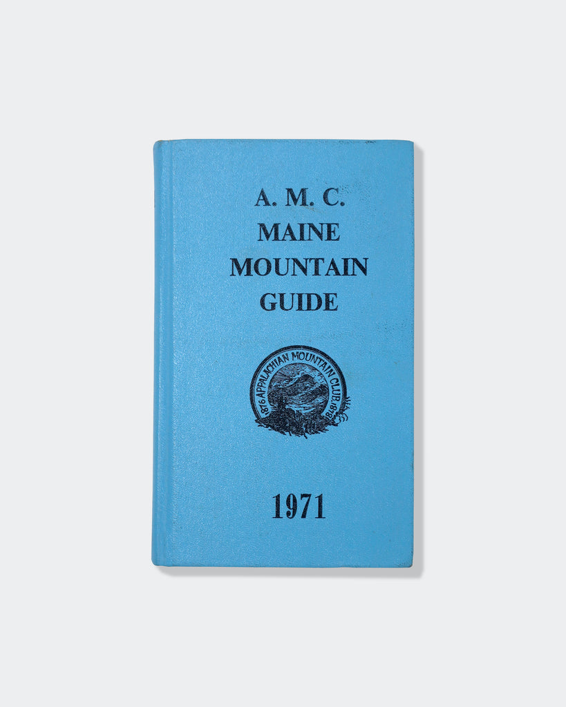 A.M.C. Maine Mountain Guide (1971) Cover