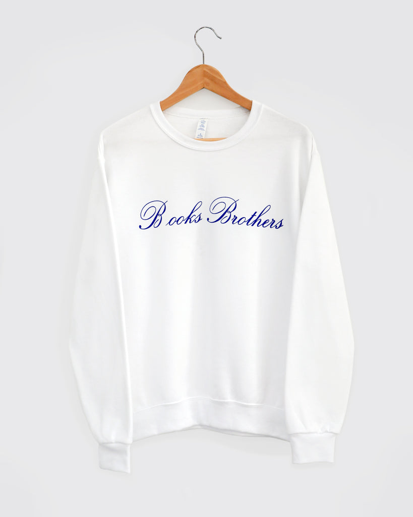 """B OOKS BROTHERS"" SWEATSHIRT: White"