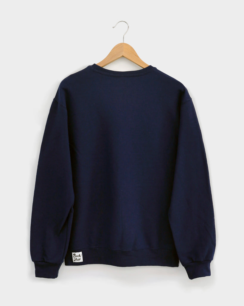 """B OOKS BROTHERS"" SWEATSHIRT: Navy Blue"