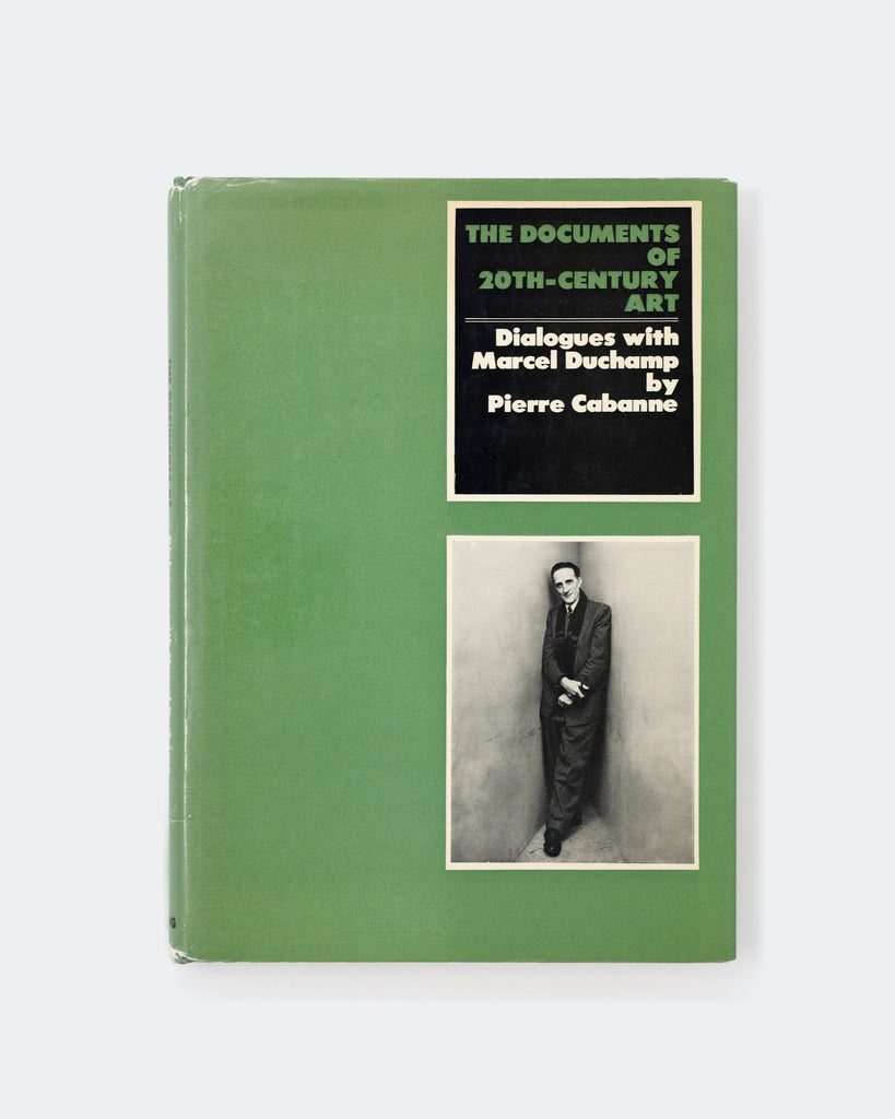 Dialogues with Marcel Duchamp Cover