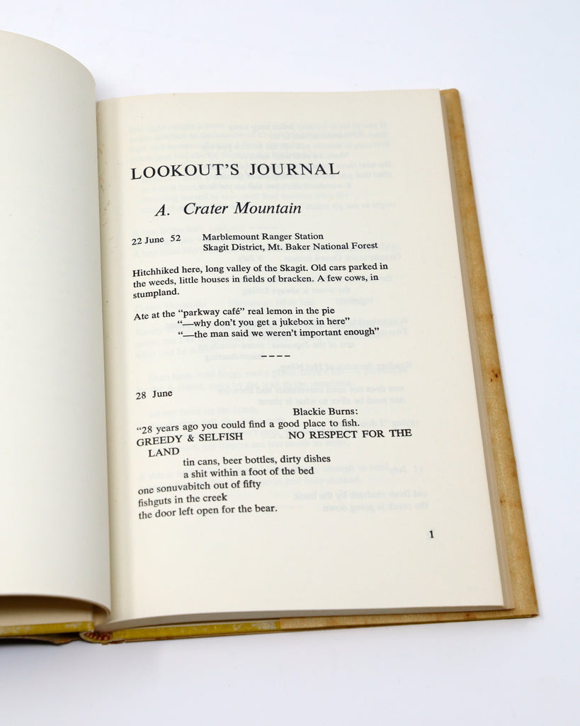 'Lookout's Journal'