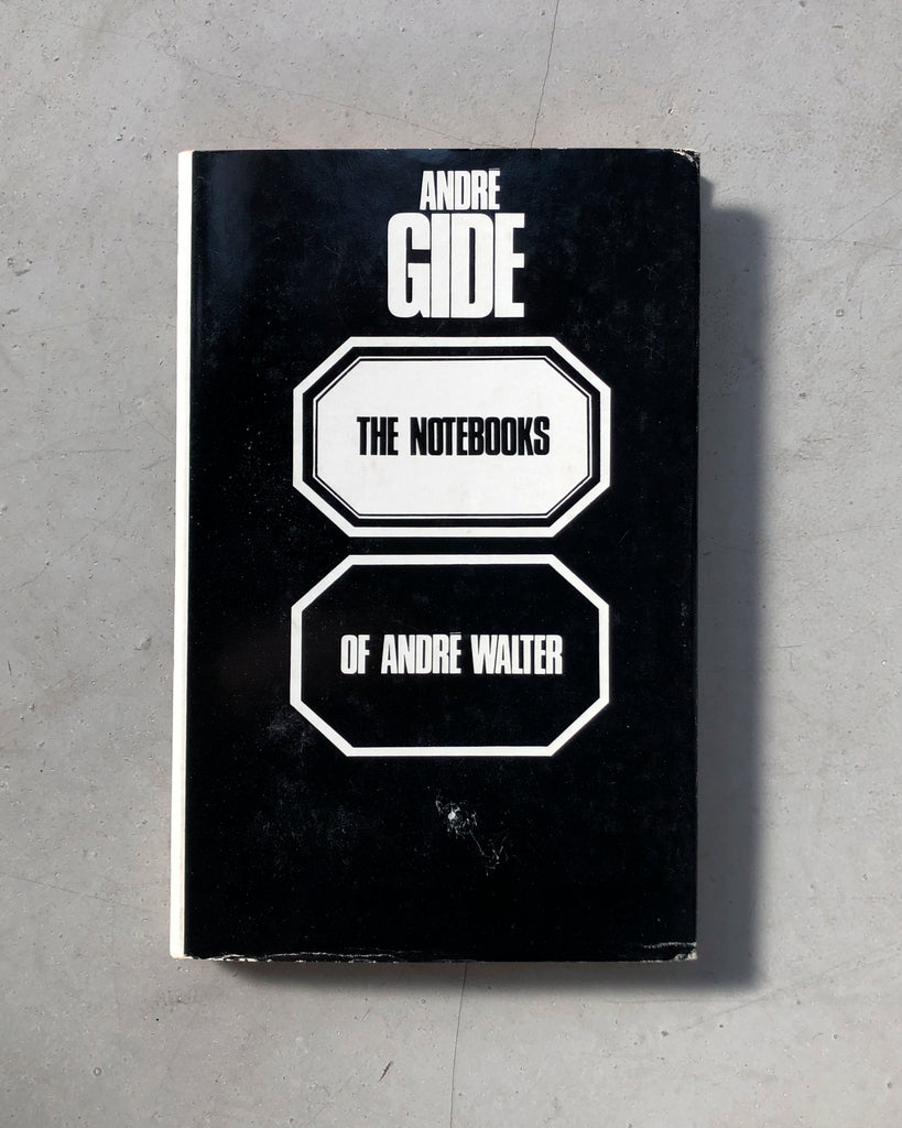 The Notebooks of André Walter by André Gide (Eng.)