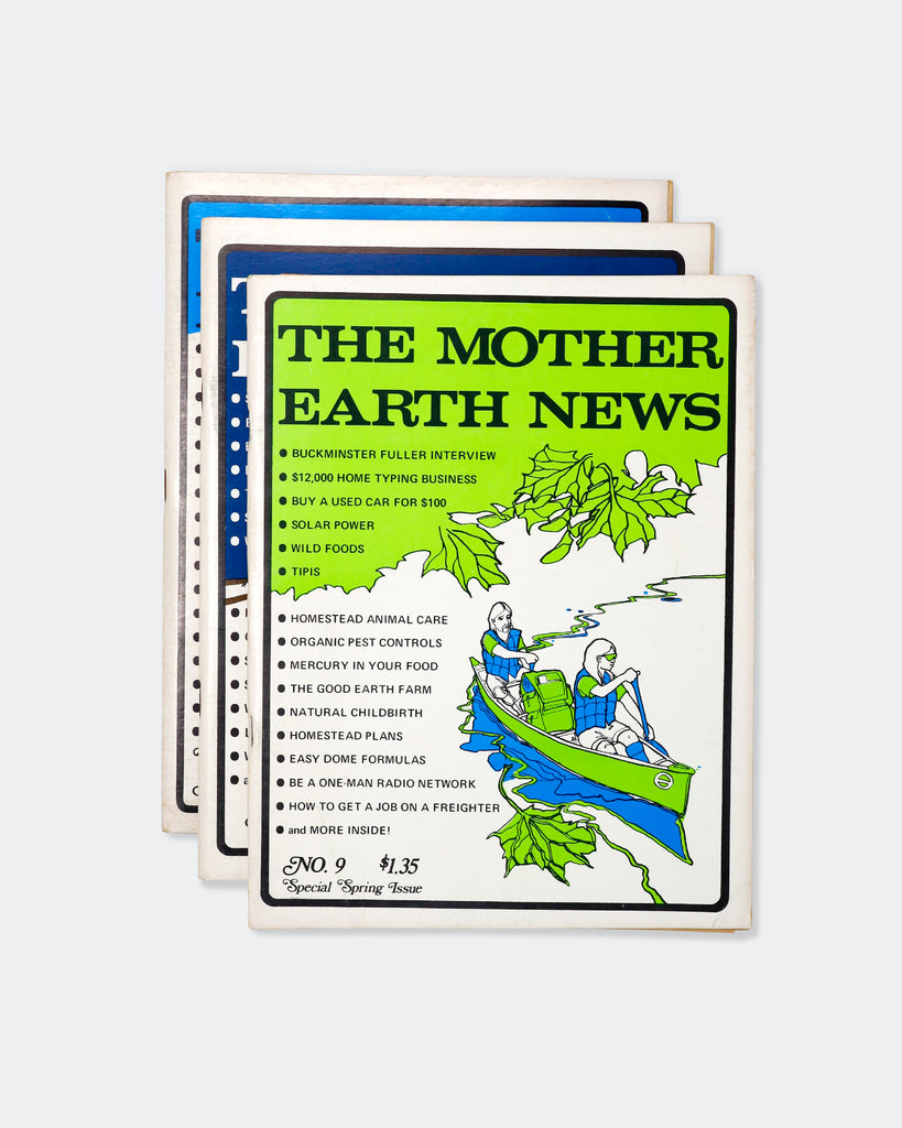 The Mother Earth News Magazine (No. 9, No. 11, No. 12)