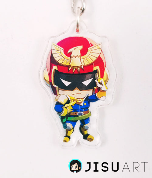 'Chibi Captain Falcon' Charm