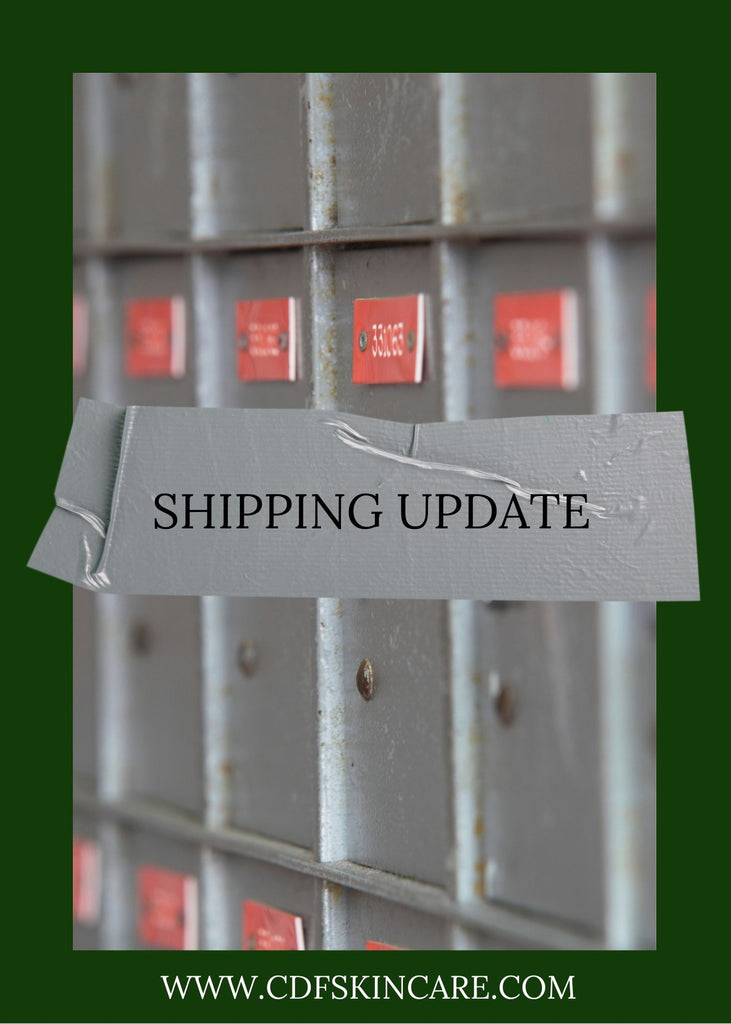 Holiday Shipping Update
