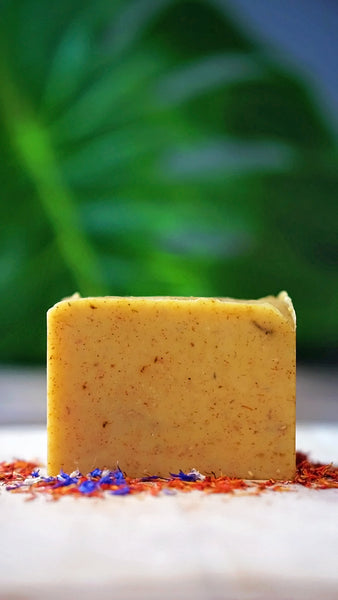 Sun in Orange - CDF Skin Care - All natural bar soap -  Skin brightening