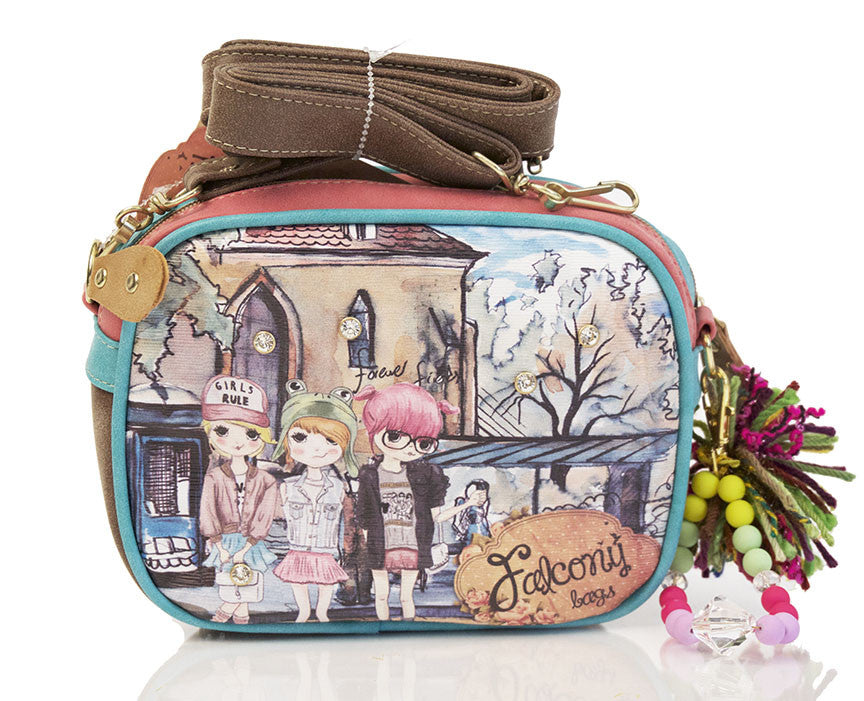 Falcony Girls Rule-box satchel