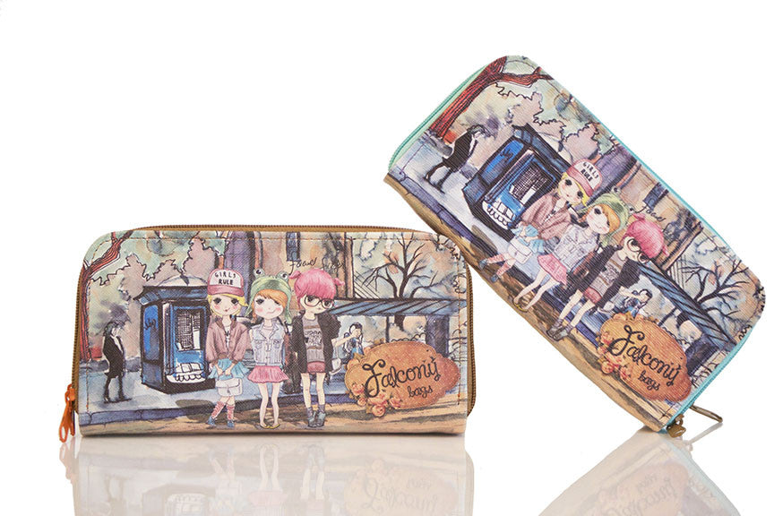 Falcony Girls Rule Wallet (SOLD OUT)