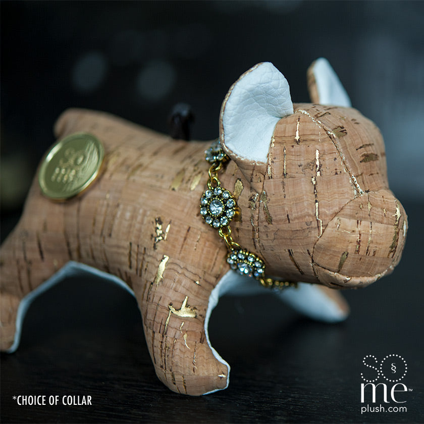Gold Nugget, French Bulldog Standing