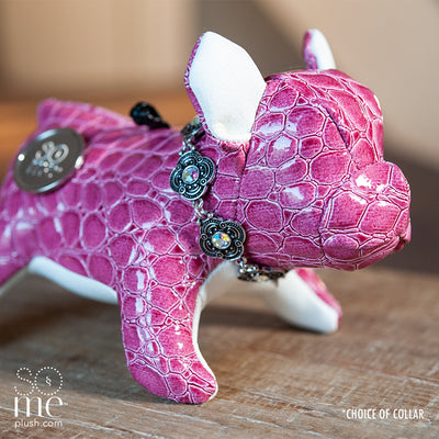 Snake Oil, Pink, French Bulldog Standing Plush, Teacup/Small/Large